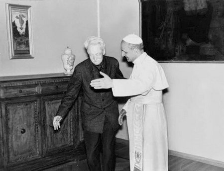 pablo-vi-y-jacques-maritain