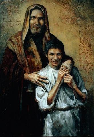 San Jose y Jesus Adolescente