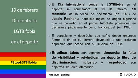 19febrero_DíacontraLGTBfobiaDeporte