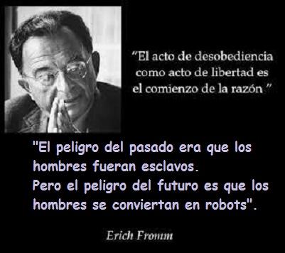 desobediencia-El miedo a la libertad – Erich Fromm