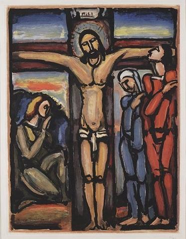 Georges-Rouault-Crucifixion