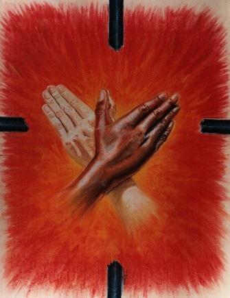 paloma de las manos del espíritu