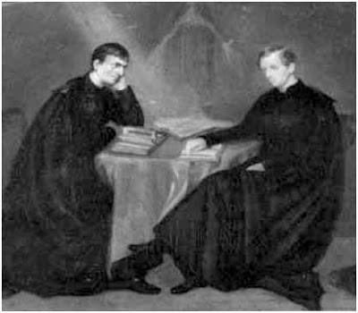 Newman and St John portrait 1847