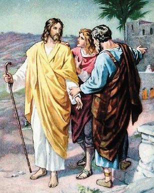 jesus y la herencia