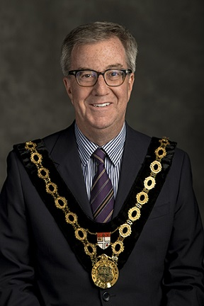 Council, Councillors, Head Shot, Official, Portrait, Mayor Jim Watson