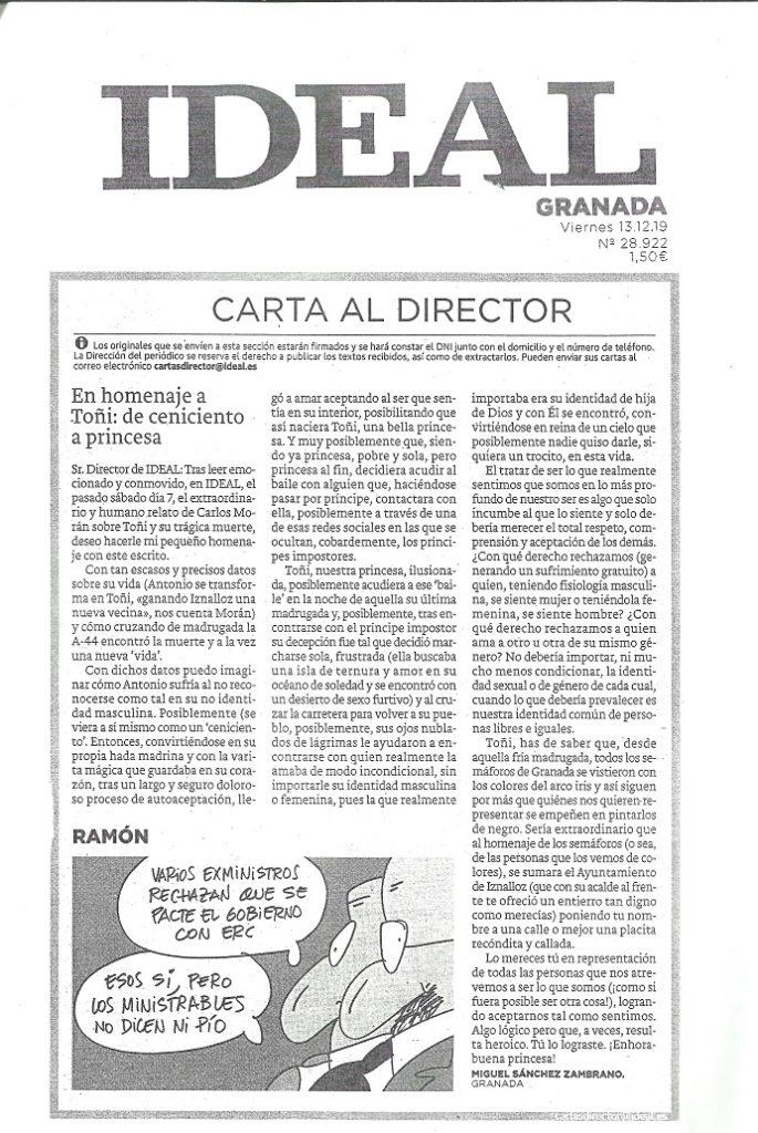 CARTA MÍA AL IDEAL DE GRANADA 001