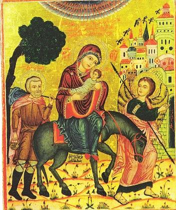 Huida a Egipto_ 37_7 x 31 cm_ Siglo XVIII