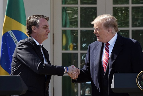 Trump Bolsonaro Estados Unidos Brasil