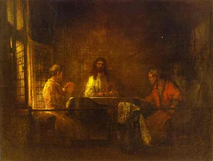 Rembrandt+van+Rijn+-+The+Pilgrims+at+Emmaus+