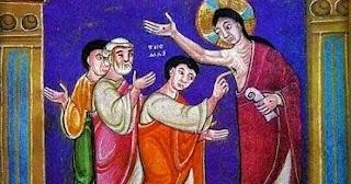aparicion de jesus a tomas