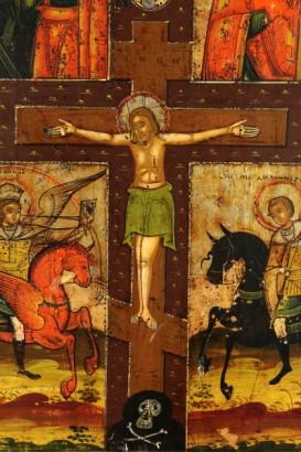 icona-quadripartita-con-cristo-crocifisso