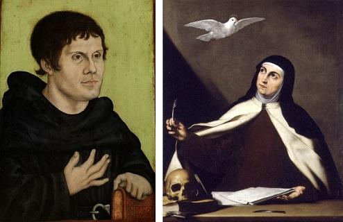 Lutero Vs. Santa Teresa