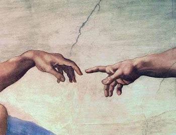 cuadro-manos-de-dios-y-adan-detalle-de-la-creacion