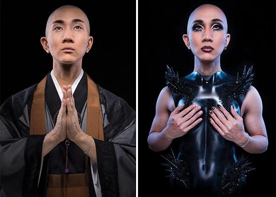 kodo_nishimura_maquillador_budista_gay