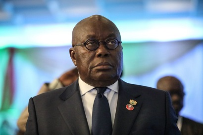 Ghana President, Nana Akufo-Addo attends the fifty-sixth ordinary session of the Economic Community of West African States in Abuja on December 21, 2019. (Photo by Kola SULAIMON / AFP) (Photo by KOLA SULAIMON/AFP via Getty Images)