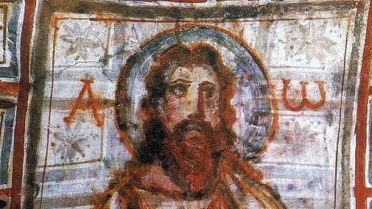 Paleocristiano-Pintura-Cristo-Catacumbas-Comodila_2329577087_15464419_667x375